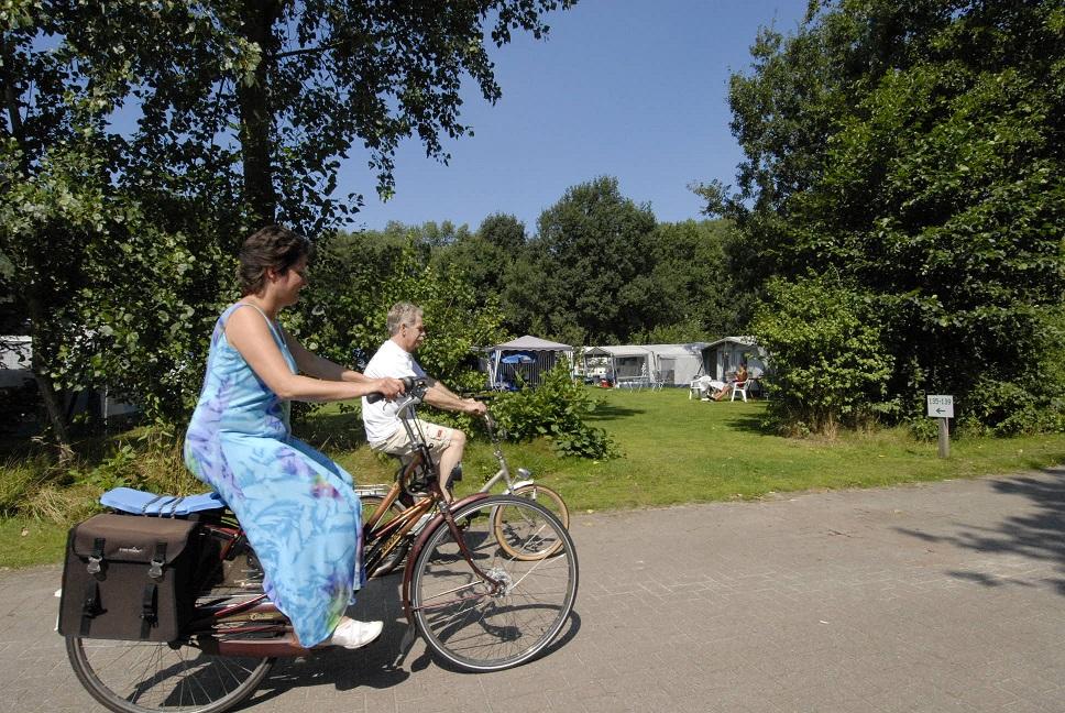 fietsroute netwerk bij camping Witven Veldhoven en Eindhoven