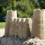 zandkastelen bouwen bij vakantiepark 't witven te veldhoven