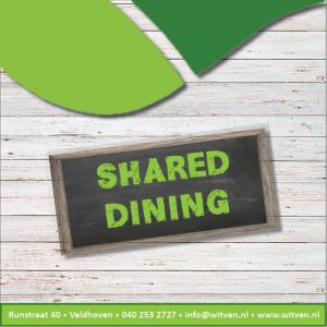 Shared dining voorblad