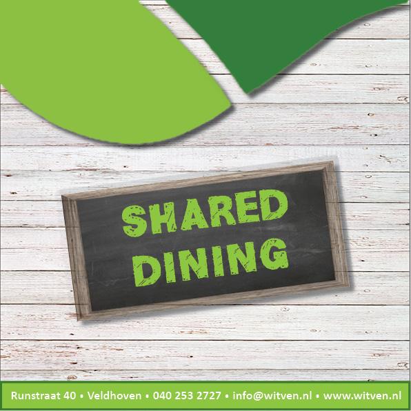 Shared dining voorblad