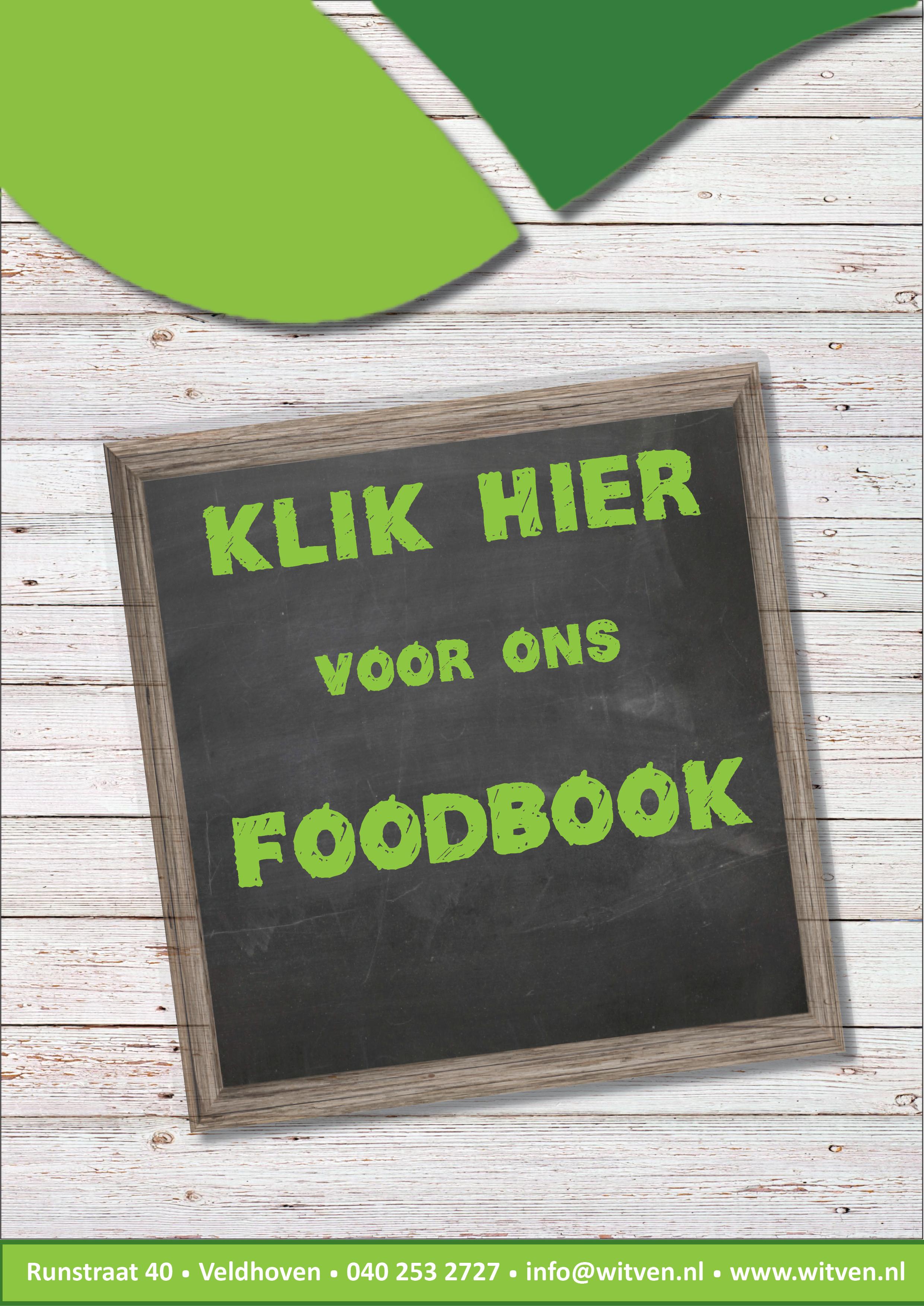 Voorblad Klik hier voor onze Foodbook